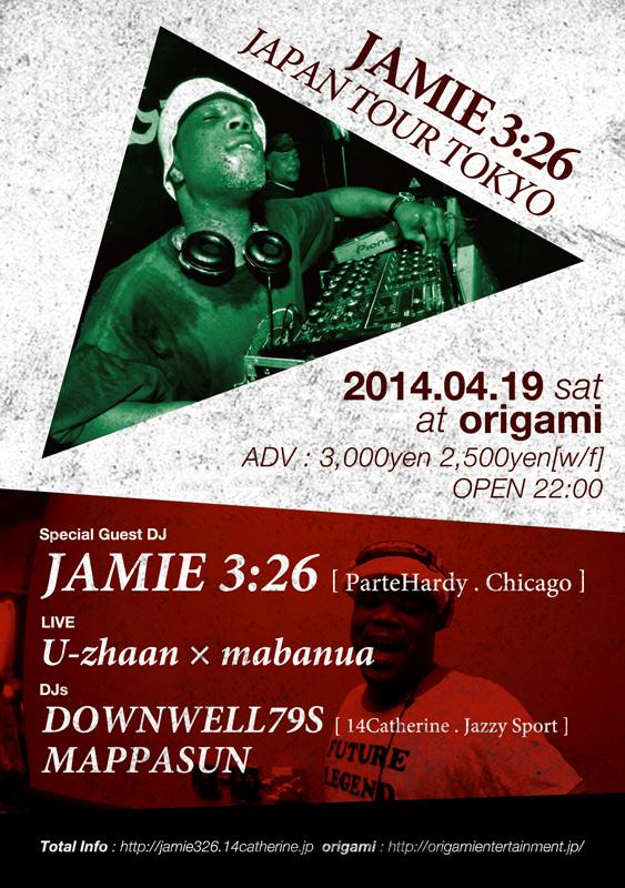 Jamie 3:26 JAPAN TOUR 2014 TOKYO