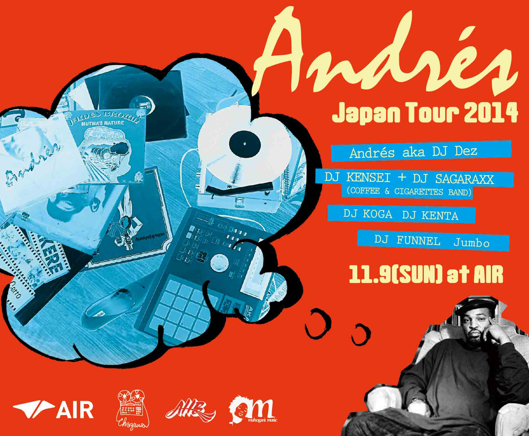 """ANDRES Japan Tour 2014"""