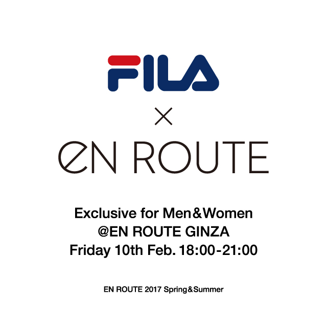 FILA × EN ROUTE Exclusive Collection Launch Party